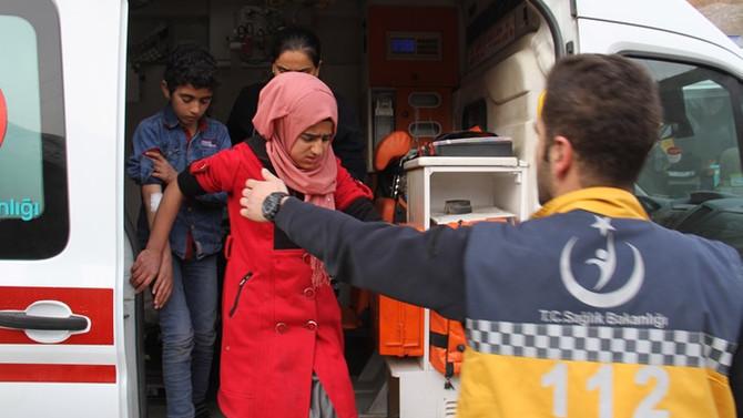 Hakkari'de 176 öğrenci hastaneye kaldırıldı