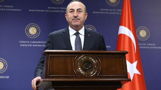 Dışişleri Bakanı Rus mevkidaşıyla görüştü