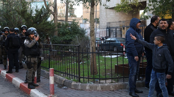 Kudüs'te göstericilere müdahale: 1 ölü