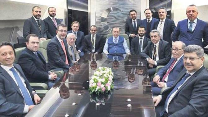 Erdoğan: Karşısındayız diyorlar yanında duruyorlar