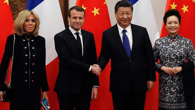 Fransa ve Çin arasında at diplomasisi