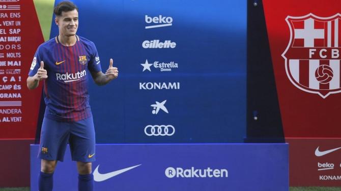 Coutinho imzayı attı