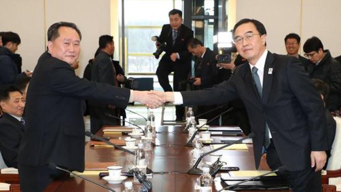 Kuzey ve Güney Kore anlaştı