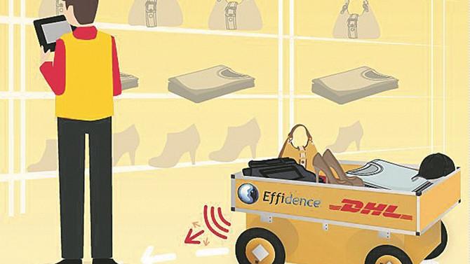 DHL, yerli otonom aracı ile depolarında dijitalleşme başlatıyor