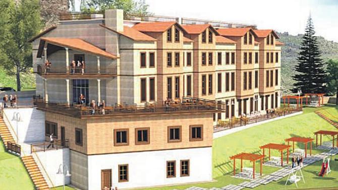 Pülümür'e 33 ortakla 5 milyonluk otel yatırımı