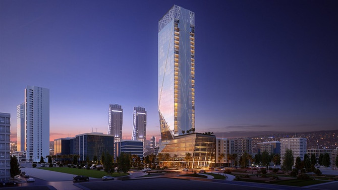 En yüksek yapısal çelik bina 2019 yılında tamamlanacak