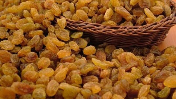 Zahmetli ve değerli: Kuru üzüm
