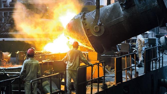 Küresel ham çelik üretimi yüzde 4,4 arttı