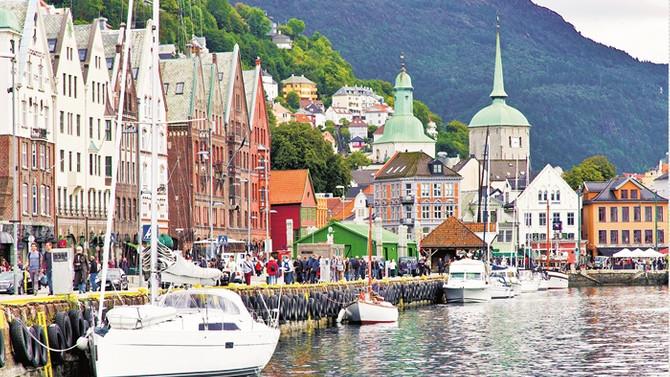Bir deniz ve kültür şehri: Bergen