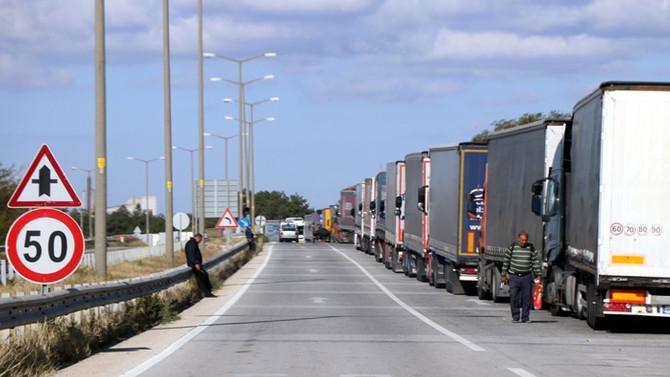 Almanya'dan ihracat şoförüne vize engeli!