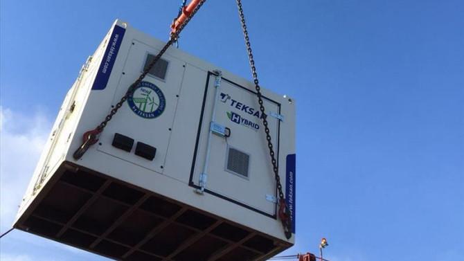 Total'in petrol platformuna Türkiye'den hibrit jeneratör
