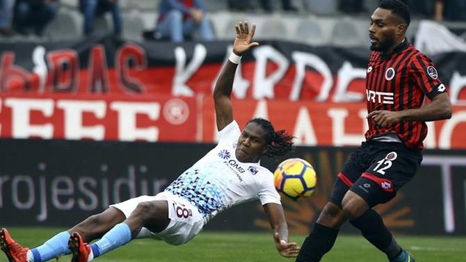 Gençlerbirliği ve Trabzonspor yenişemedi