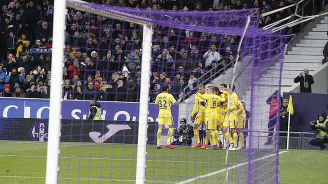 PSG'ye Neymar'ın golü yetti