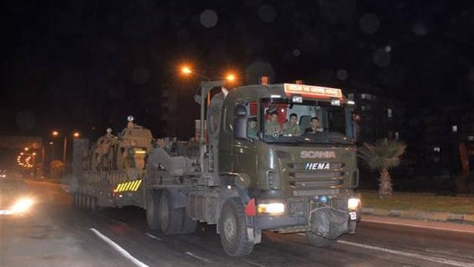Sınıra 60 zırhlı araçlık takviye