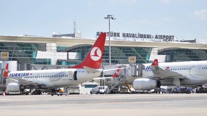 Atatürk Havalimanı, ABD nüfusundan fazla yolcu ağırladı