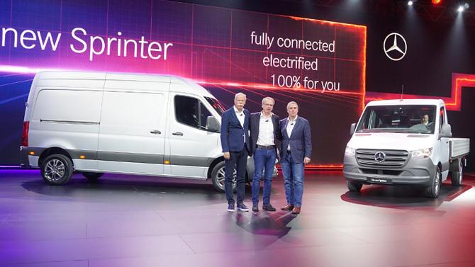 Yeni Sprinter, bin 700 kombinasyonla geliyor!