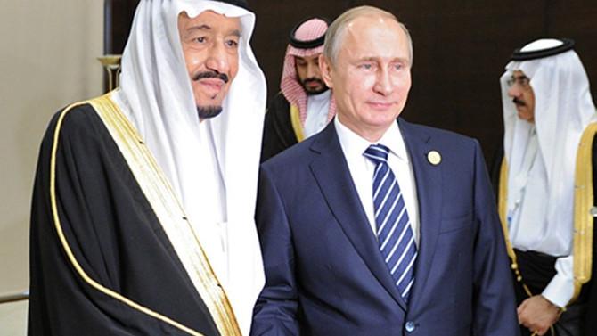 Putin ve Kral Selman Suriye ve Körfez'i görüştü