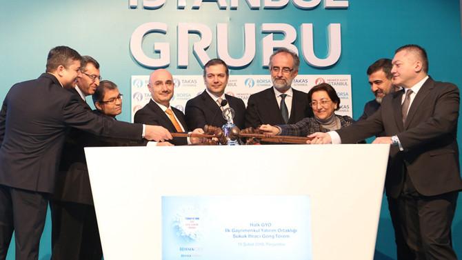 Türkiye'nin ilk GYO sukuk ihracı yapıldı