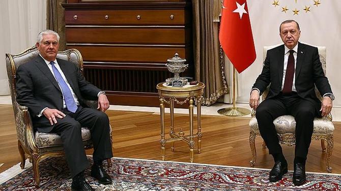 Erdoğan-Tillerson görüşmesine ilişkin açıklama