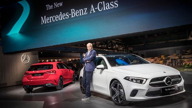 Mercedes'in yenilenen modeli geliyor