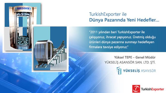 TurkishExporter ile Dünya Pazarında Yeni Hedefler…