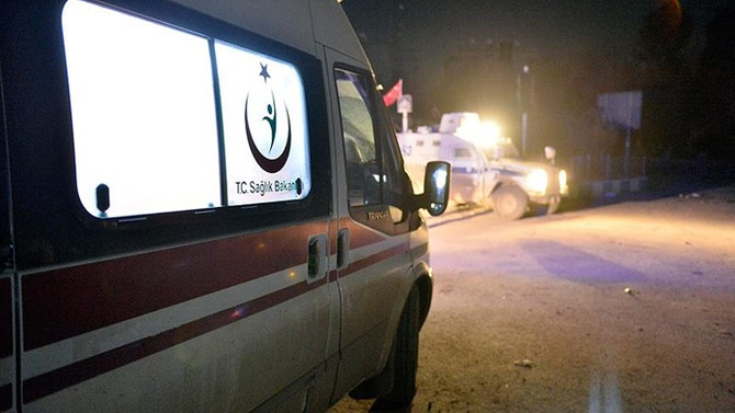 Hatay'da askeri araç devrildi: 1 şehit, 2 yaralı