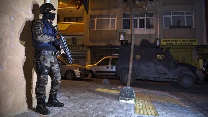 İstanbul'da Kangal Pençesi operasyonu