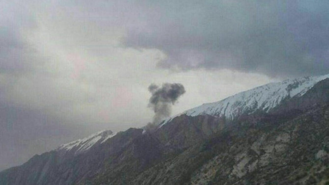 Özel Türk jeti İran'da düştü: 11 ölü