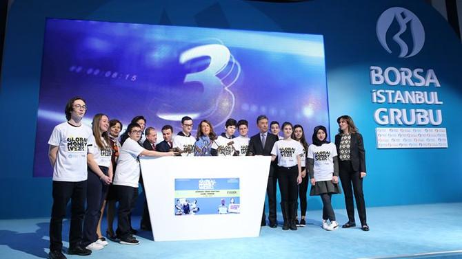 Gong 50 ülkede 'para haftası' için çaldı