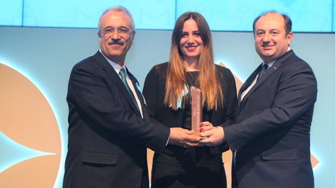 Sarten'e ihracatta birincilik ödülü