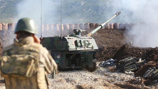 Afrin kent merkezi kuşatıldı