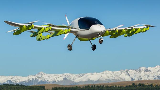 Google'ın kurucusundan uçan taksi hamlesi