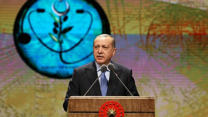 Erdoğan: Afrin'de 3 bin 486 terörist etkisiz hale getirildi