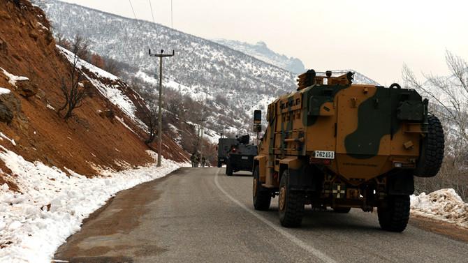 İçişleri Bakanlığı: Erzurum'da 4 terörist öldürüldü