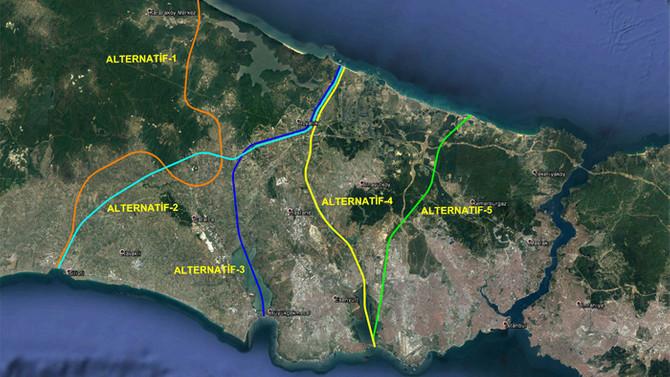 Kanal İstanbul'dan geçecek gemilerin boyutu belirlendi