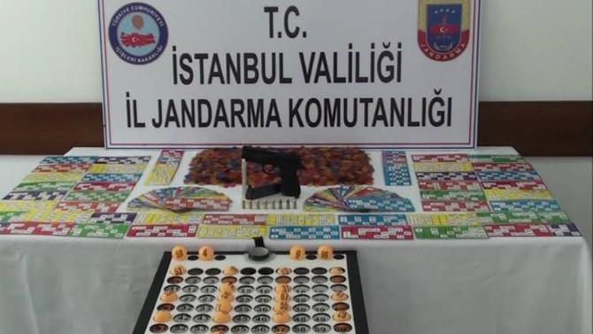 İstanbul'da lüks villalara kumar baskını