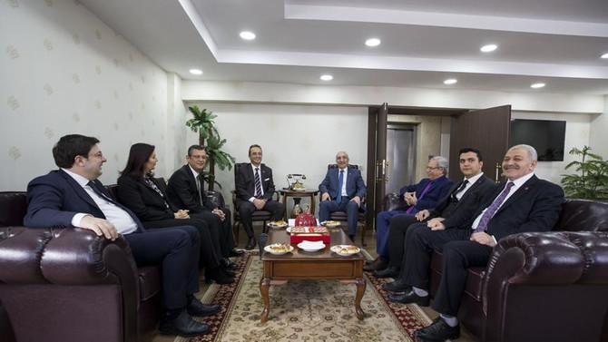 CHP'den BBP'ye 'seçim güvenliği' ziyareti
