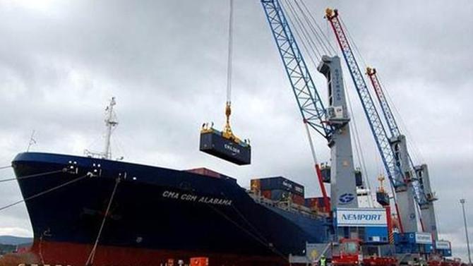 ABD'de dış ticaret açığı 9,5 yılın zirvesine yükseldi