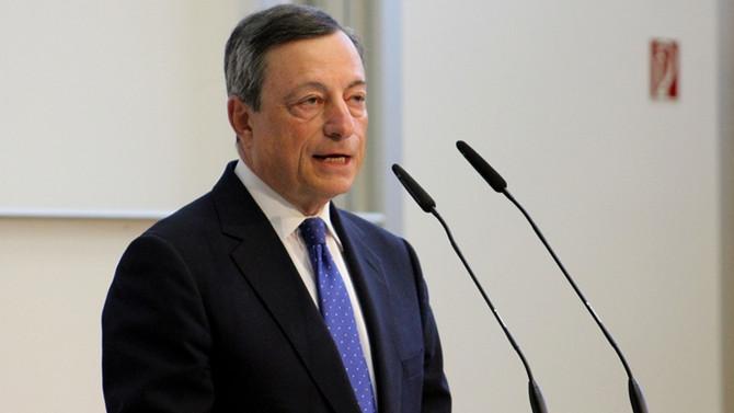 Draghi: 2018 için büyüme tahmini yükseldi