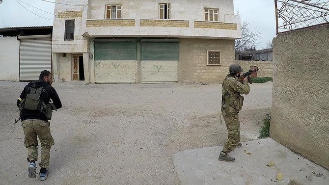 Afrin ilçe merkezi sınırları içine girildi