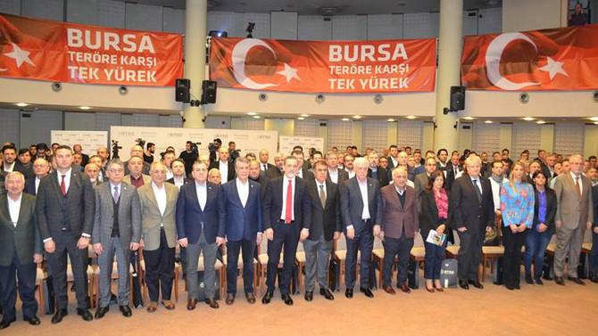 16 proje Bursa'nın ortak aklıyla 40 makro projeye ulaştı