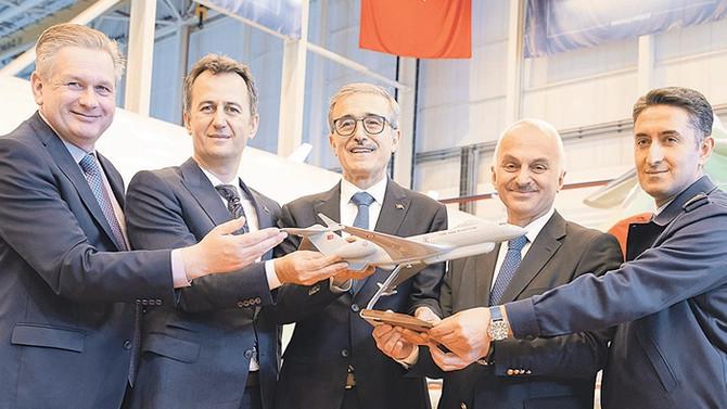Havadan elektronik taarruz yapacak uçaklar Türkiye'de