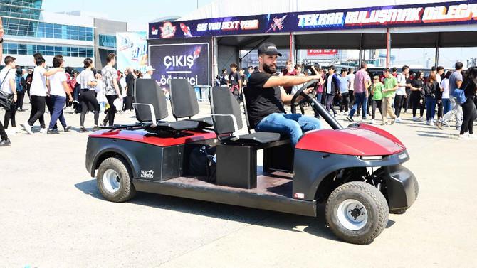 Tragger, elektrikli hizmet araçlarıyla dünyaya açılıyor