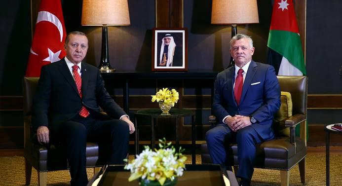Türkiye ve Ürdün ortak bildiri yayımladı
