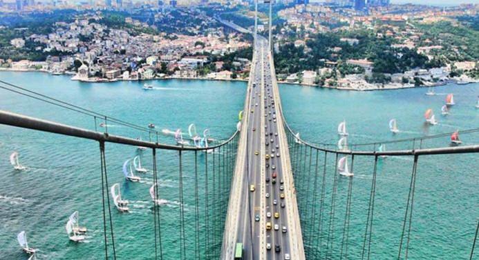İstanbul'a en çok Alman, en az Kuzey Koreli geldi