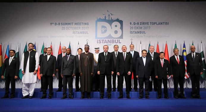 D-8 Ekonomik İşbirliği Zirvesi başladı