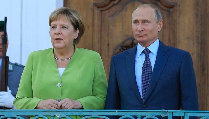 Merkel ve Putin'den ortak 'Suriye' mesajı