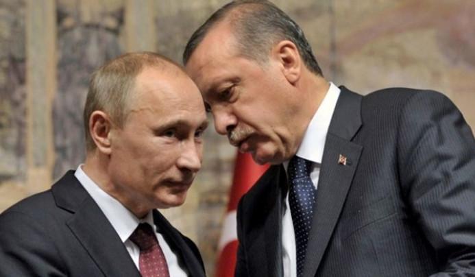 Erdoğan, Putin ile TürkAkım'ı görüştü