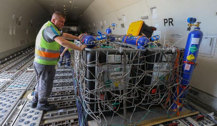 Türkiye'den Umman'a uçakla canlı balık ihracatı