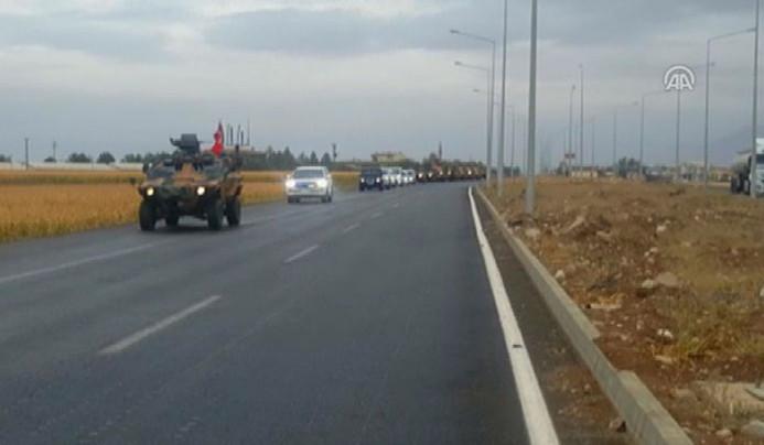 Silopi-Habur bölgesinde askeri hareketlilik
